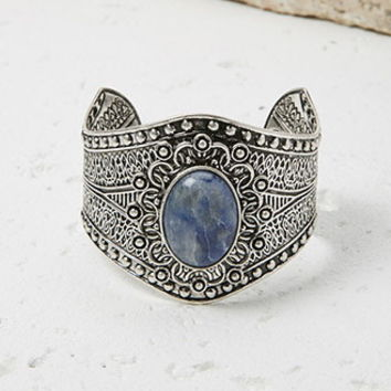 Faux Stone Etched Cuff