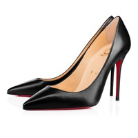 Decollete 554 100 Black Leather - Women Shoes - Christian Louboutin