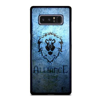 WORLD OF WARCRAFT ALLIANCE WOW Samsung Galaxy Note 8 Case Cover