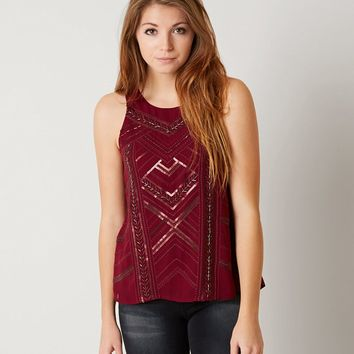 MISS ME EMBELLISHED TANK TOP