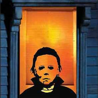 Michael Myers Horrifying Wall decal Decor - Scary ideas
