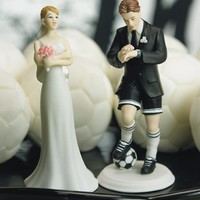 Weddingstar Soccer Player Groom Mix & Match Cake Topper