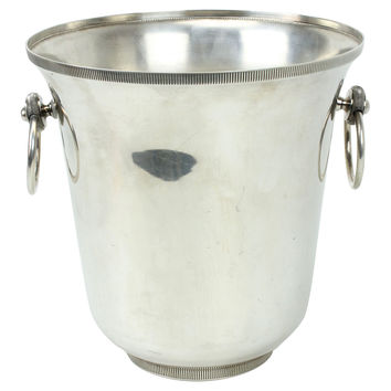 Silverplated French Champagne Bucket