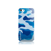 Blue Camouflage Army Design iPhone 4 4s, iPhone 5/5s, Iphone 5c Hard Case Cover
