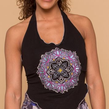 NEW! Mandala Mama Halter Top