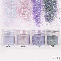 1Box 10ml Purple Pink Glitter Powder Sheets Tips Nail Art Decoration -in Rhinestones & Decorations from Health & Beauty on Aliexpress.com | Alibaba Group