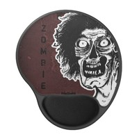ZOMBIE- Black & White Ver.2 Gel Mouse Pad