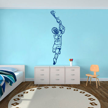 Wall Decals Sport Baseball Ballplayer Athlete Player Sports Game Sportsman Gym Interior Sporting Event Home Decor Vinyl Decal Sticker  ML122