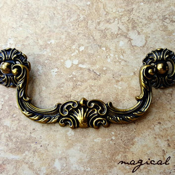 shop vintage furniture hardware drawer pulls on wanelo