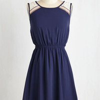 ModCloth Americana Mid-length Sleeveless A-line Fete it Be Dress