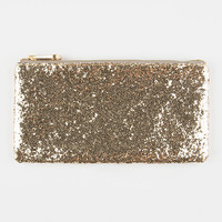 Volcom Glitter Party Clutch Gold One Size For Women 26527262101