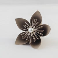 Beautiful origami flowers - 3-5 small (made to order)