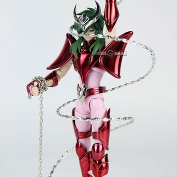 NEW ARRIVAL GREAT TOYS GreatToys GT EX Saint Seiya Andromeda Shun V3 Myth Cloth Action Figure Model Toy With Ikki Feathers