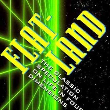 Flatland: A Romance of Many Dimensions/Sphereland : A Fantasy About Curved Spaces and an Expanding Universe/2 Books in 1 Volume (Everyday Handbook)