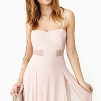 Sweet Surrender Dress - Blush