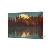 Mount Rainier Art Canvas