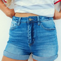 Summer Crush Shorts: Denim