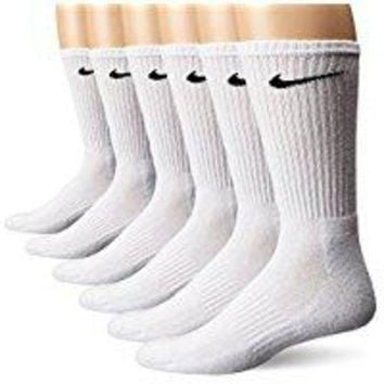 DCCKLG7 NIKE Performance Cushion Crew Socks with Band (6 Pairs)
