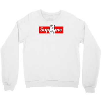 supreme cat Crewneck Sweatshirt