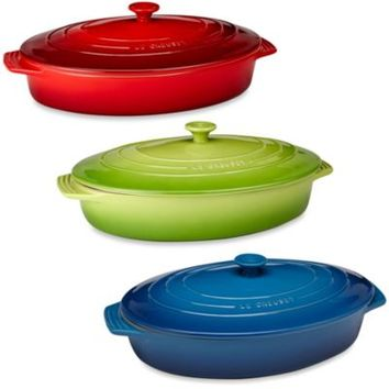 Le Creuset® 3-3/4-Quart Covered Oval Casserole