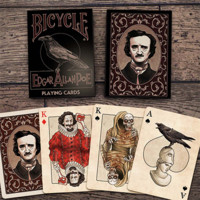 Bicycle Edgar Allan Poe Playing Cards