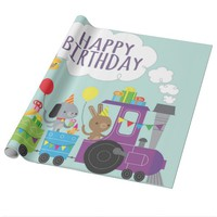 Birthday Party Wrapping Paper