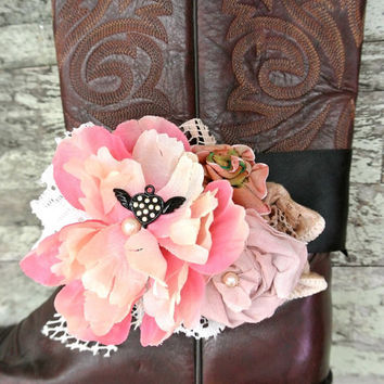 Cowgirl boot accessories cowboy boot bling by TrueRebelClothing