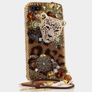LUX Leopard Design with Phone Charm (Style 422)