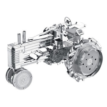 Tractor Puzzle 3D Metal Learning Educational Toy For Boy Exercise Patience Creative Kids Toys Children Gift Laser Cutting Puzzle
