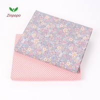 2018 New  50x160cm Cotton Fabric Floral Motifs Sewing Quilting Patchwork Quilts Baby Dress Bedding Tecidos DIY Doll Cloth M46