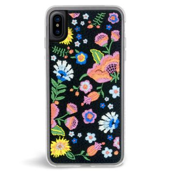 Marie Embroidered iPhone X Case