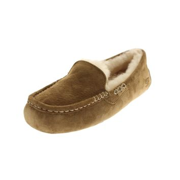 Ugg Australia Womens Ansley Suede Lined Loafers