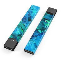 Skin Decal Kit for the Pax JUUL - Blurred Abstract Flow V40