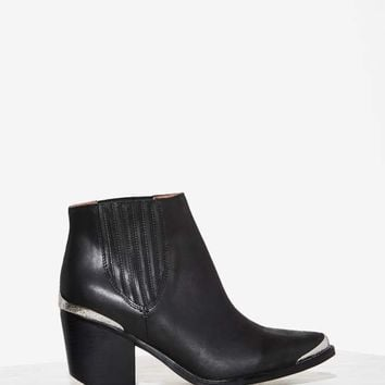 Jeffrey CampbellMetal Fest Leather Bootie - Black