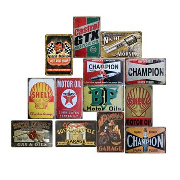 Hot Sale Vintage Retro Metal Iron Painting Signs Poster Plaque Bar Pub Club Wall Vintage Home Decor Plaque Vintage 7A0240