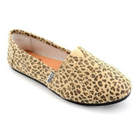 Corkys Girl's Sues Leopard Slip-On Shoes