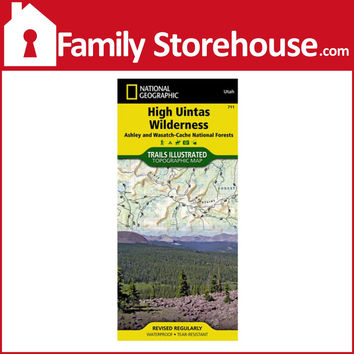 HIGH UINTAS WILDERNESS #711 NATIONAL GEOGRAPHIC