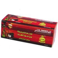 Al Fakher Coconut Hookah Charcoal 30 Piece Box