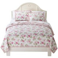 Simply Shabby Chic® Garden Rose Quilt