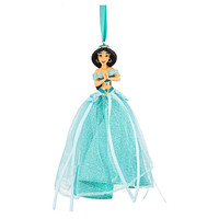 disney parks christmas aladdin princess jasmine tulle ornament new with tag