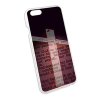 Cross and Bible Verse John 3-16 For God So Loved the World Snap On Hard Protective Case for Apple iPhone 6