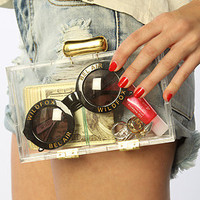 Mettle The Ceres Clutch in Recycled Lucite : Karmaloop.com - Global Concrete Culture