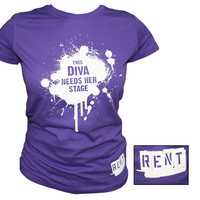 Broadway Merchandising RENT Diva T-Shirt