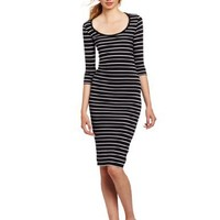 French Connection Women's Susu Stripe Dress