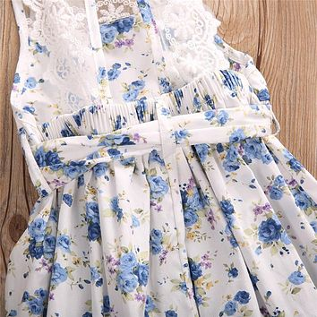 Cute Newborn Lace Rompers Infant Clothes Baby Girl Floral Romper Jumpsuit Outfits One-pieces