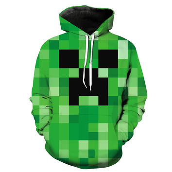 Crazy Creepers Minecraft Hoodie