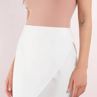 Madeline Mini Wrap Skirt