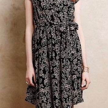 Anthropologie Noronha Wrap Dress Sz S - By Maeve - NWT
