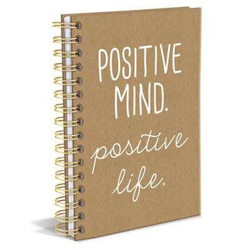Positive Mind Positive Life Hard Bound Journal