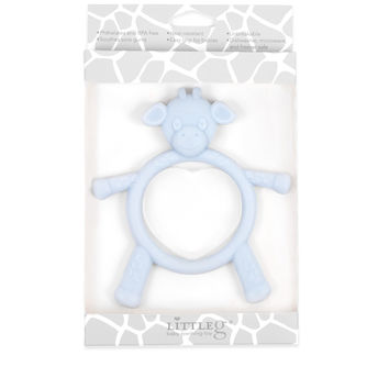 Little G Baby Teething Toy - Blue